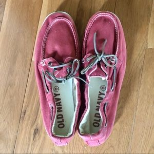 💕 3 for $25 💕 Red loafers / boat shoes